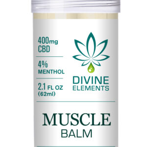 divine elements 400mg muscle balm image