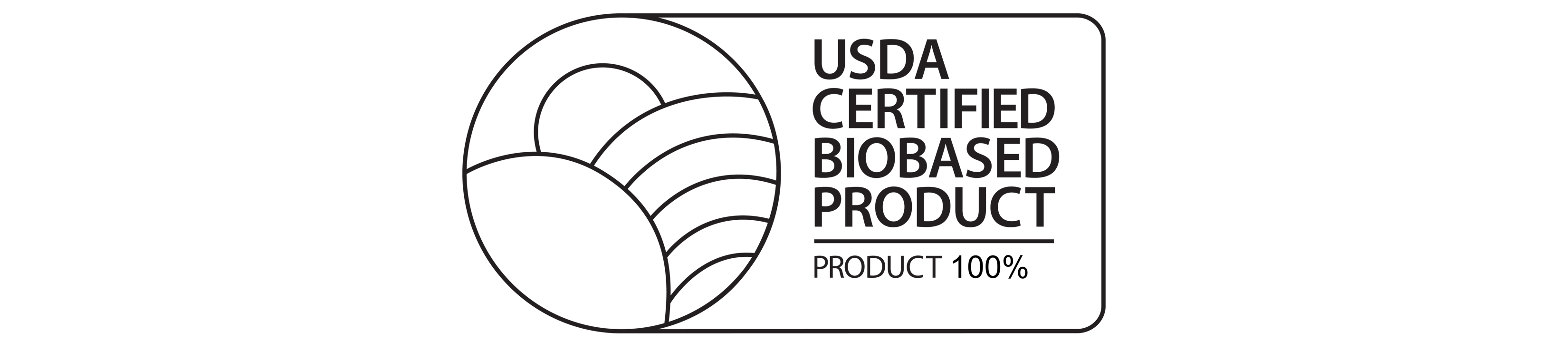 usda certified biobased product 100% image